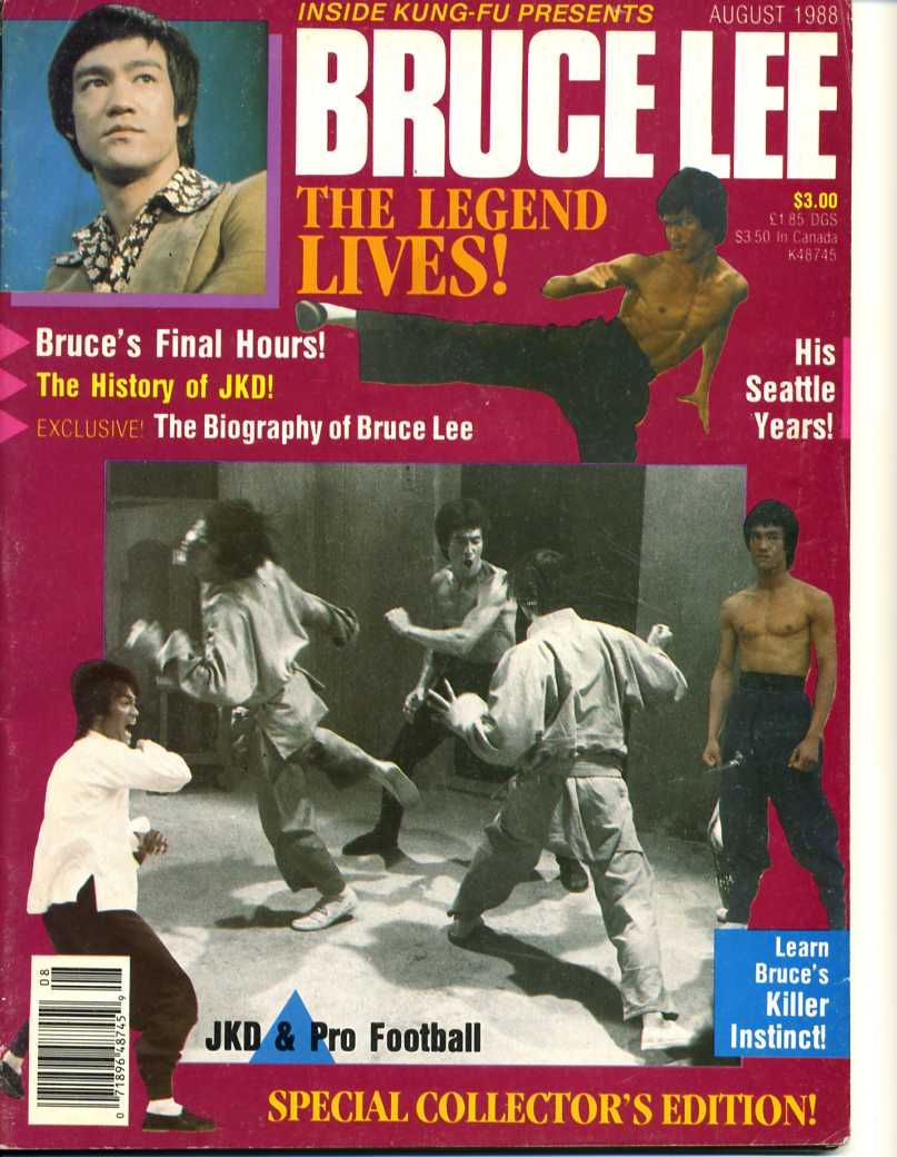 08/88 Bruce Lee Special Collector's Edition