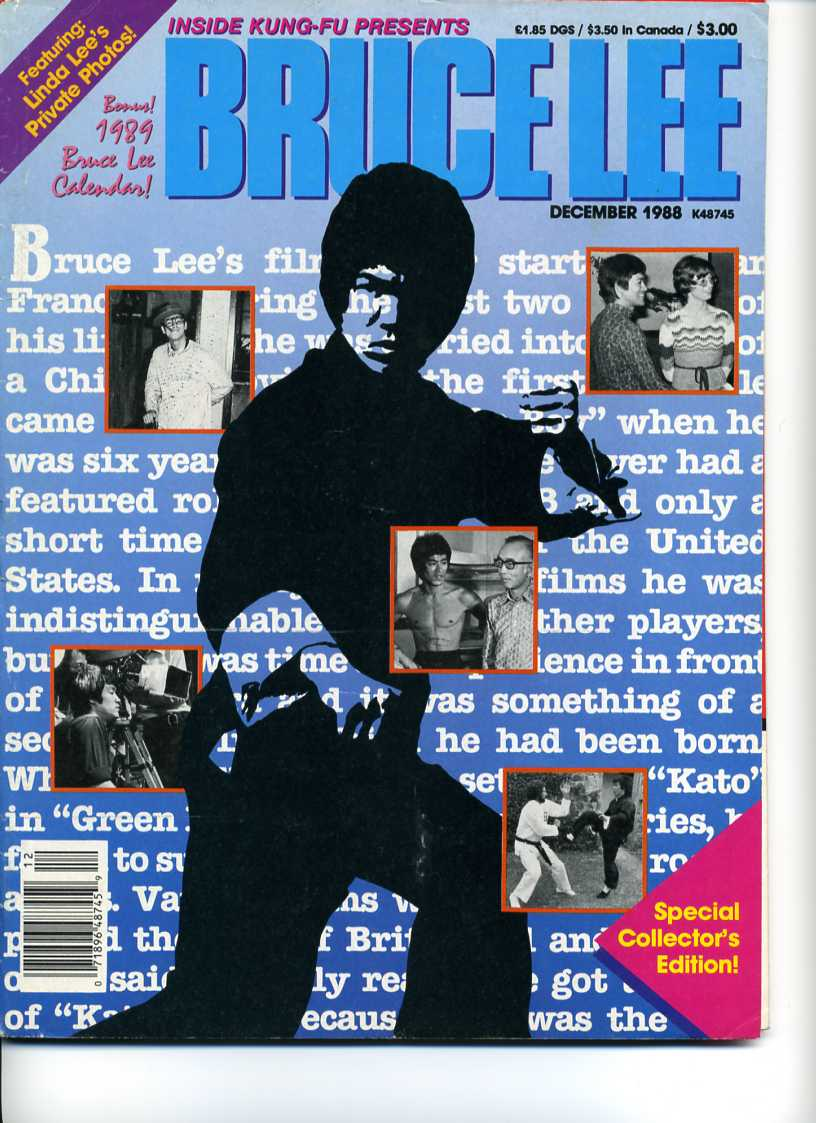 12/88 Bruce Lee Special Collector's Edition