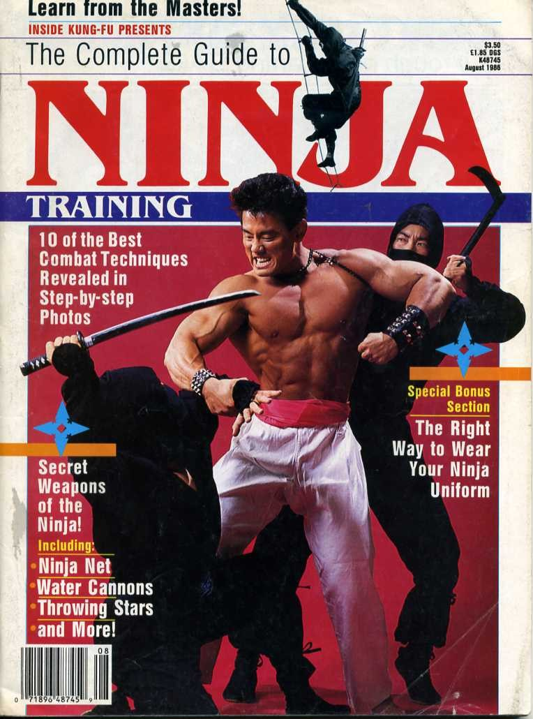 08/86 The Complete Guide to Ninja Training