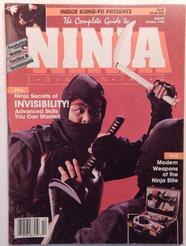 10/86 The Complete Guide to Ninja Training