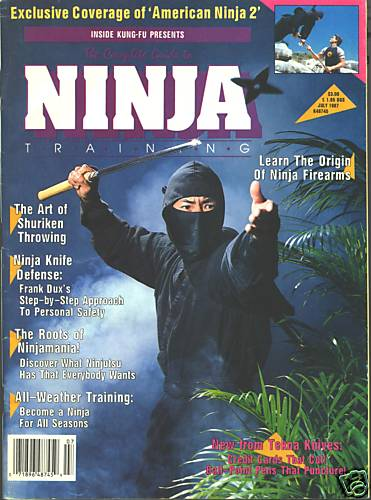 07/87 The Complete Guide to Ninja Training