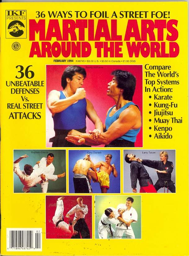 02/94 Martial Arts Around the World
