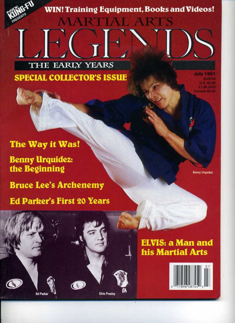 07/91 Martial Arts Legends