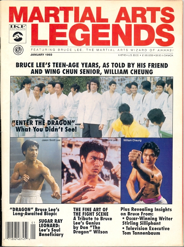 01/93 Martial Arts Legends