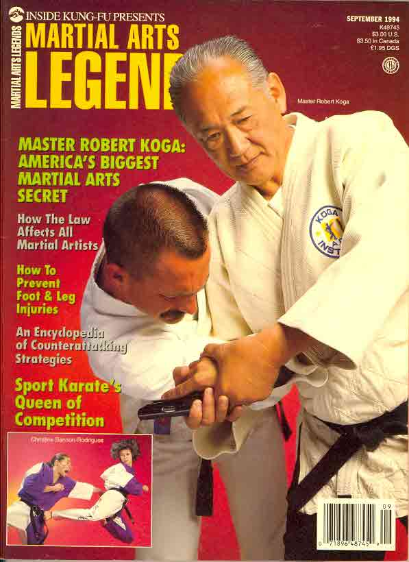 09/94 Martial Arts Legends