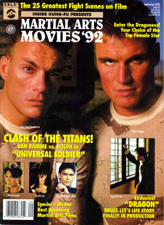 09/92 Martial Arts Movies