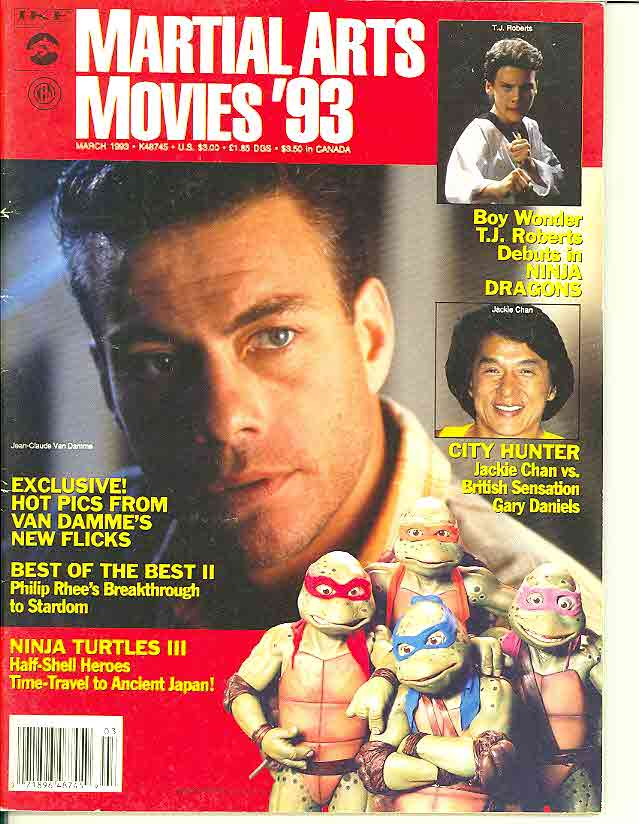 03/93 Martial Arts Movies