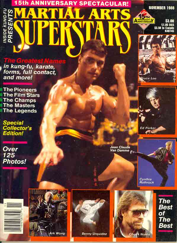 11/88 Martial Arts Superstars