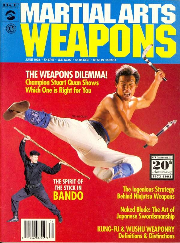 06/93 Martial Arts Weapons