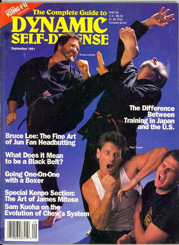09/91 The Complete Guide to Dynamic Self Defense