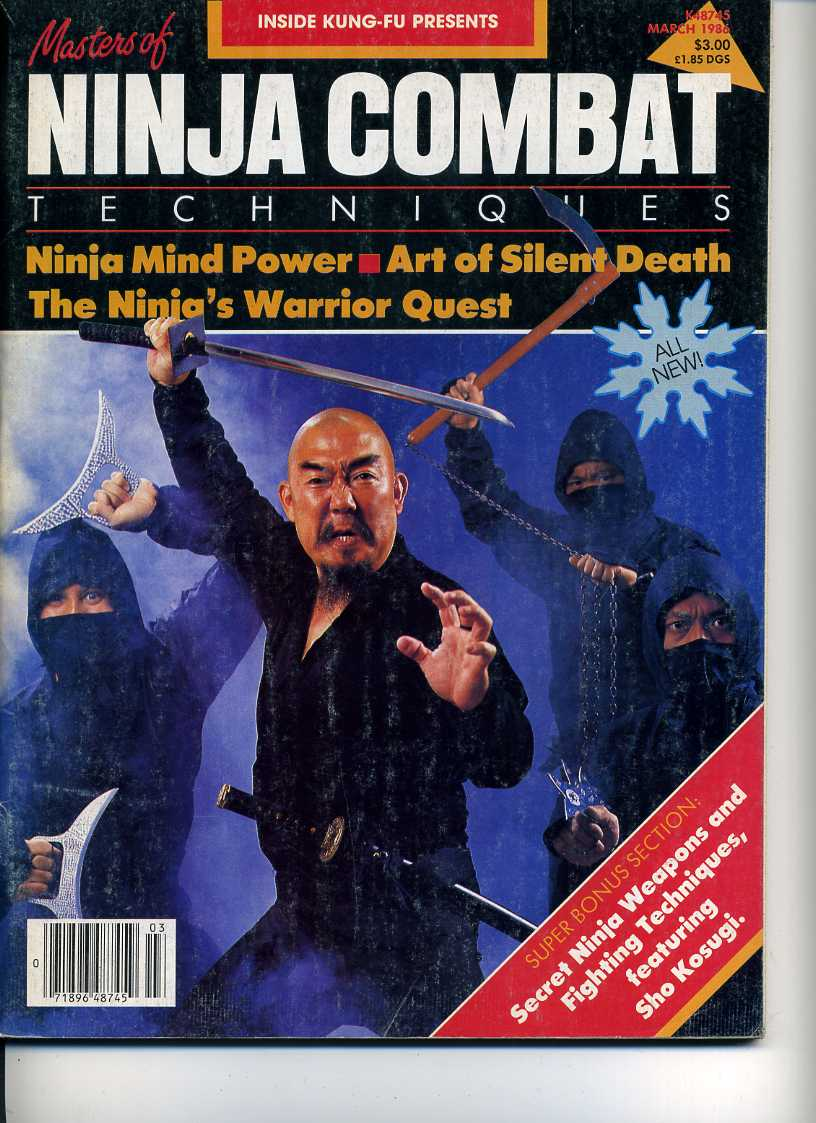 03/86 Masters of Ninja Combat Techniques