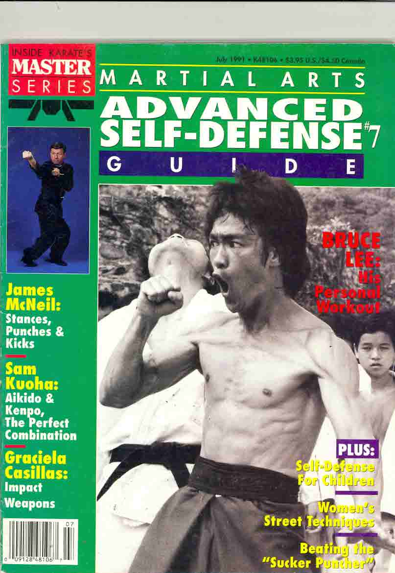 07/91 Martial Arts Advanced Self Defense Guide