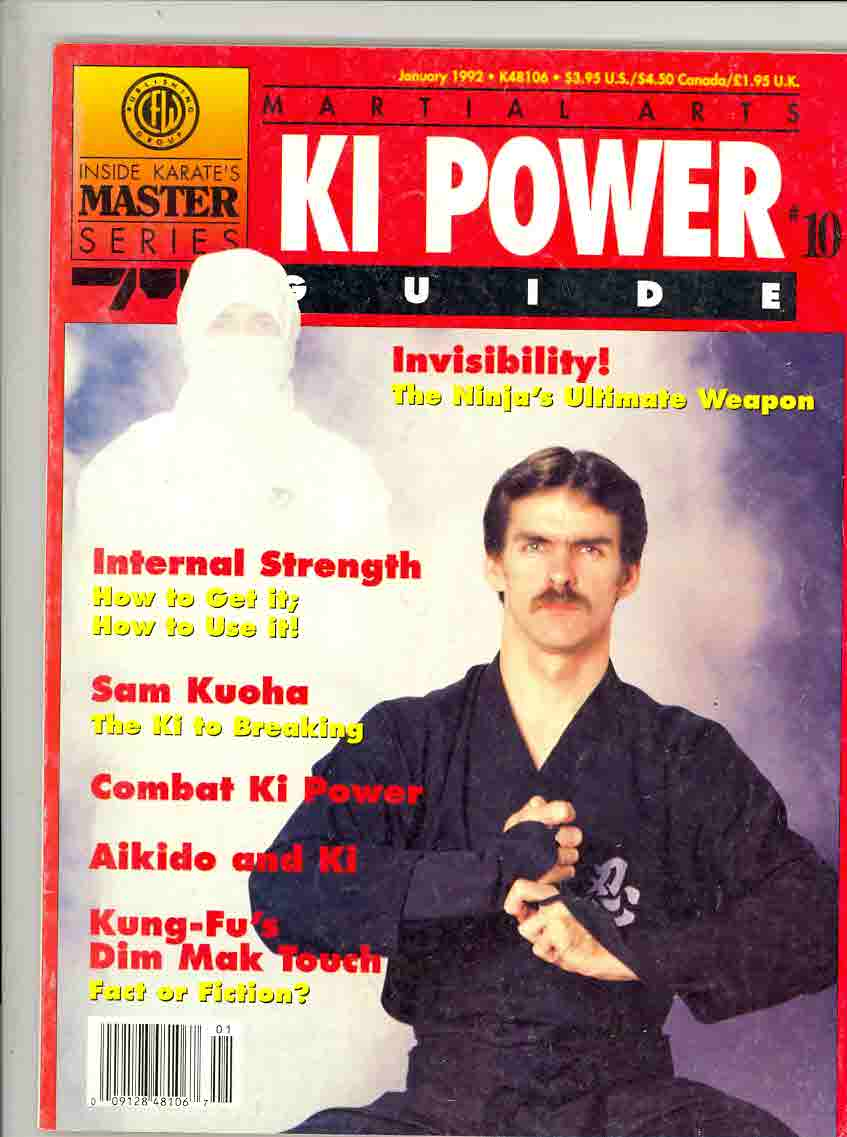 01/92 Martial Arts Ki Power Guide