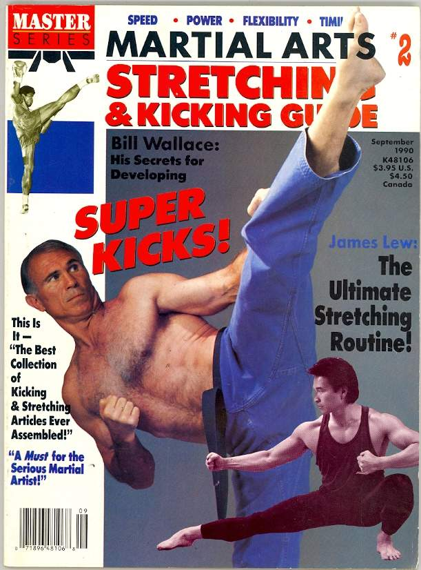 09/90 Martial Arts Stretching & Kicking Guide