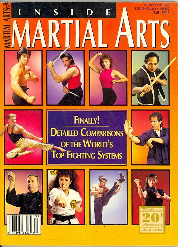 Fall 1993 Inside Martial Arts