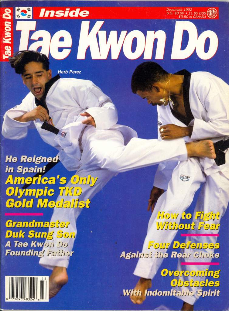 12/92 Inside Tae Kwon Do