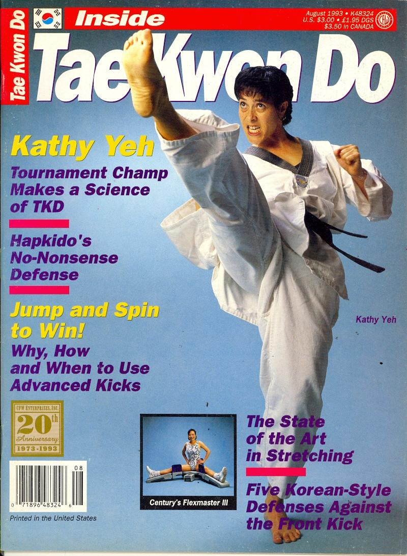 08/93 Inside Tae Kwon Do