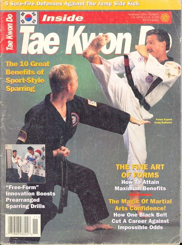 11/95 Inside Tae Kwon Do
