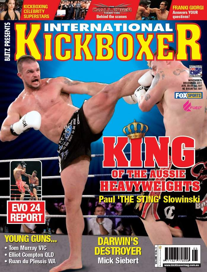 11/11 International Kickboxer