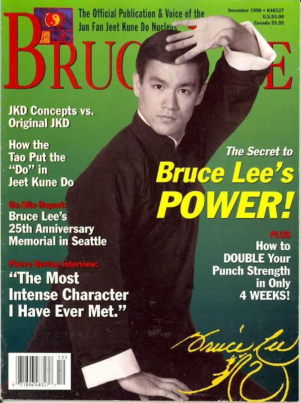 12/98 Jun Fan Jeet Kune Do Nucleus Bruce Lee