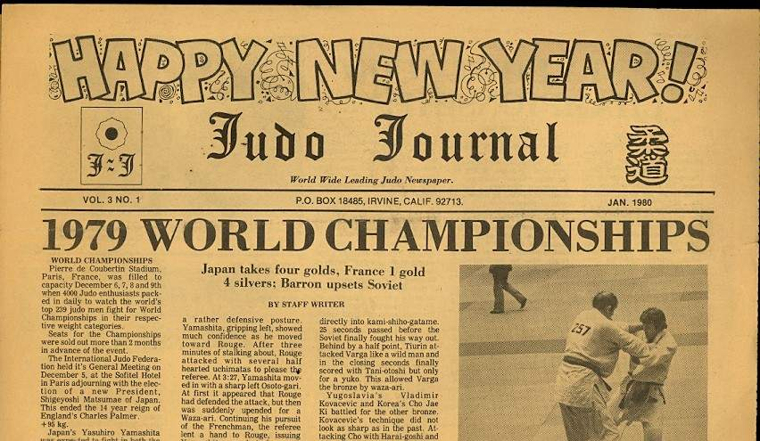 01/80 Judo Journal Newspaper