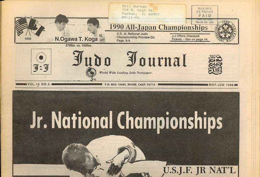 05/90 Judo Journal Newspaper