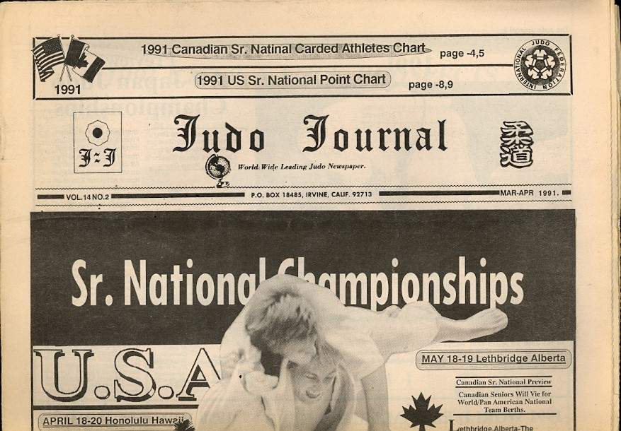 03/91 Judo Journal Newspaper