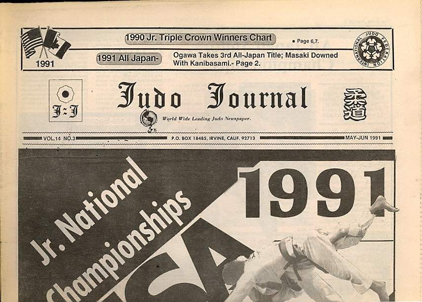 05/91 Judo Journal Newspaper