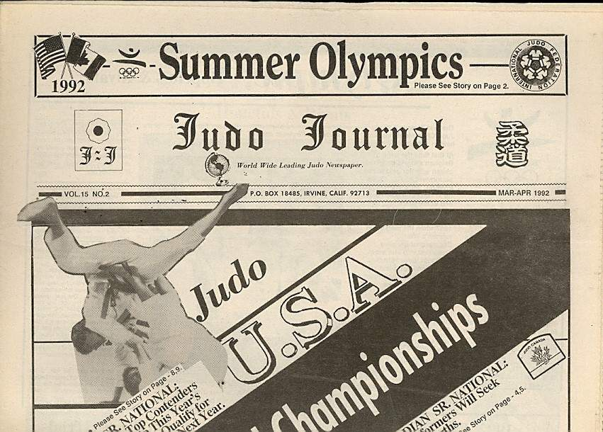 03/92 Judo Journal Newspaper