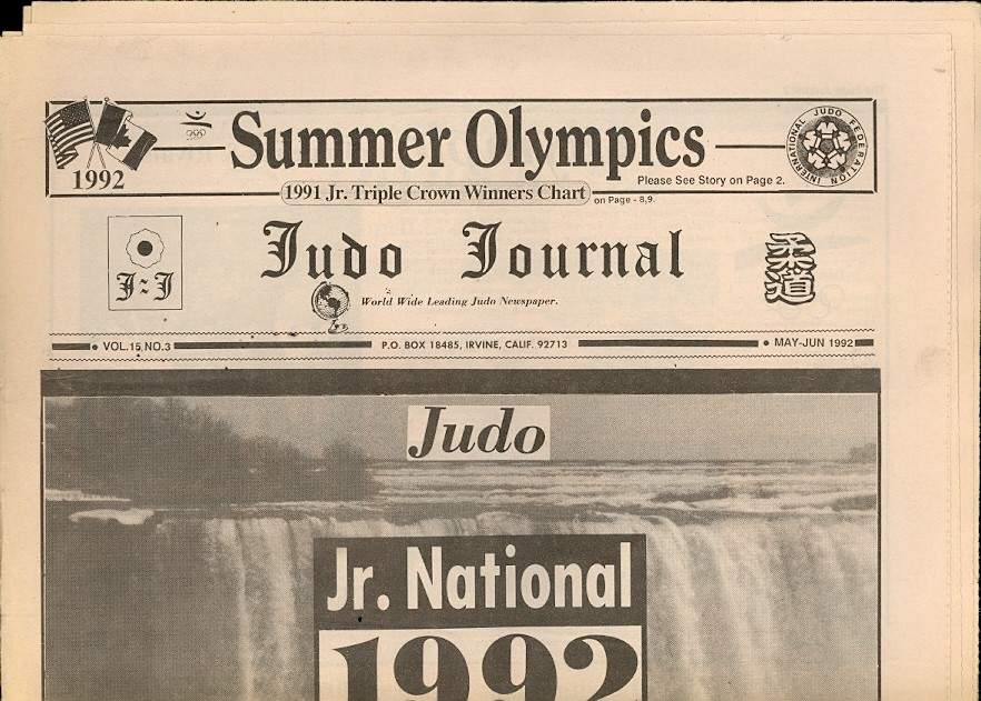 05/92 Judo Journal Newspaper