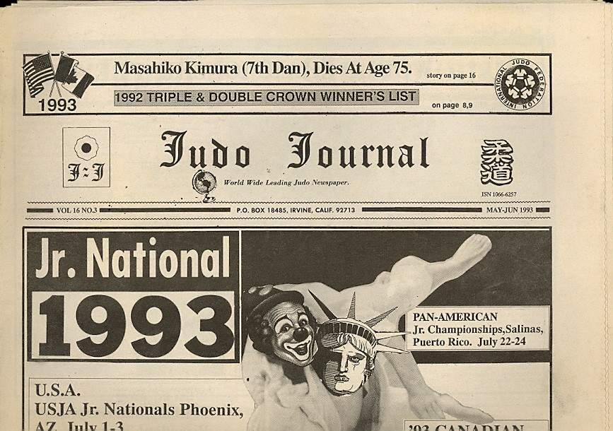 05/93 Judo Journal Newspaper