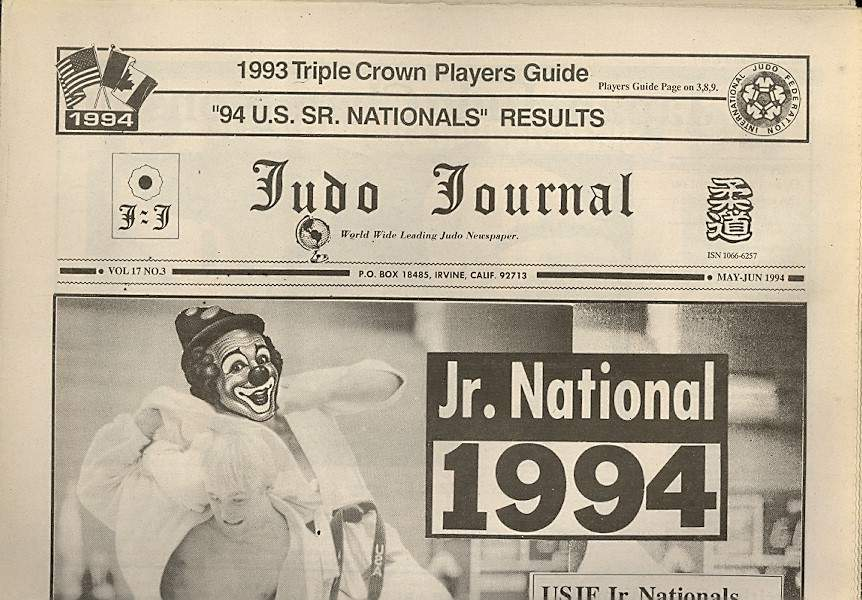 05/94 Judo Journal Newspaper