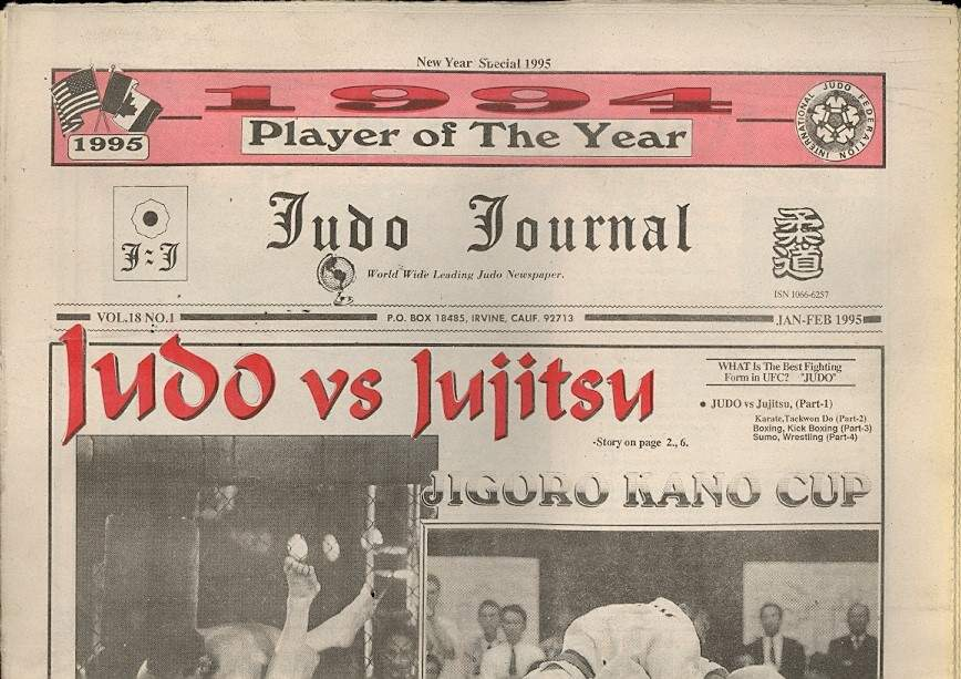 01/95 Judo Journal Newspaper
