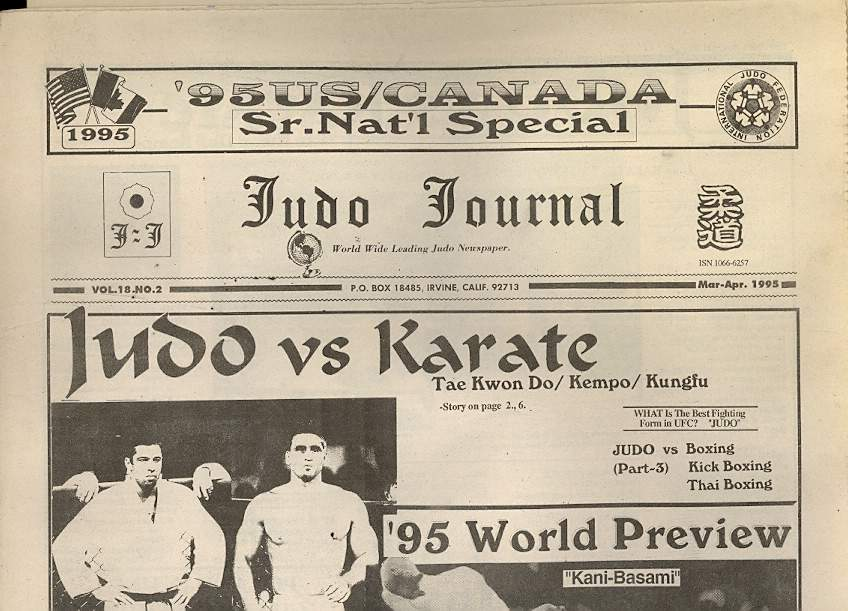 03/95 Judo Journal Newspaper