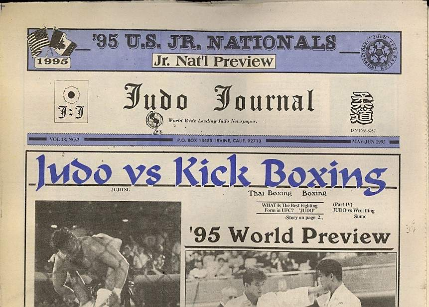 05/95 Judo Journal Newspaper