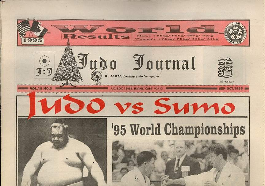 09/95 Judo Journal Newspaper