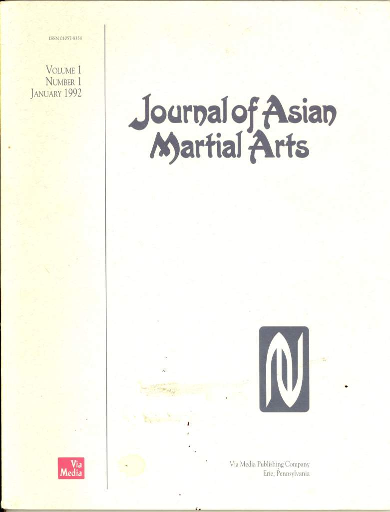 01/92 Journal of Asian Martial Arts