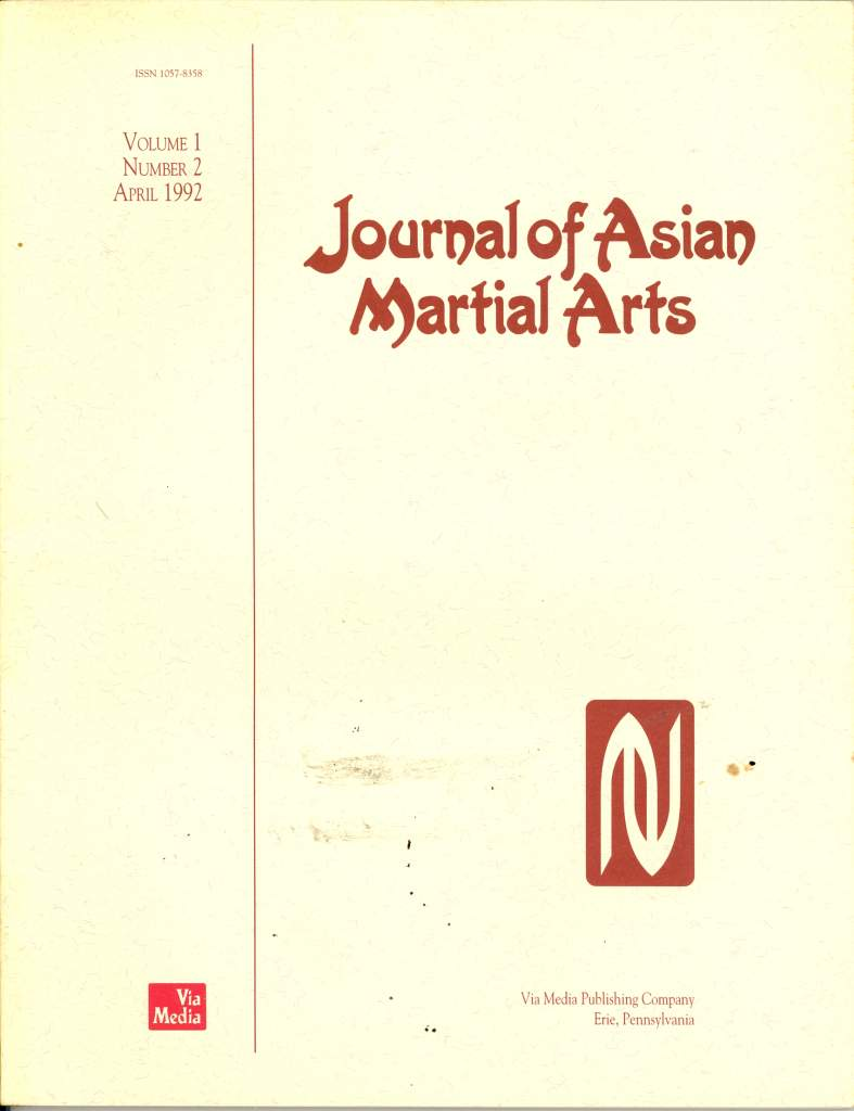 04/92 Journal of Asian Martial Arts