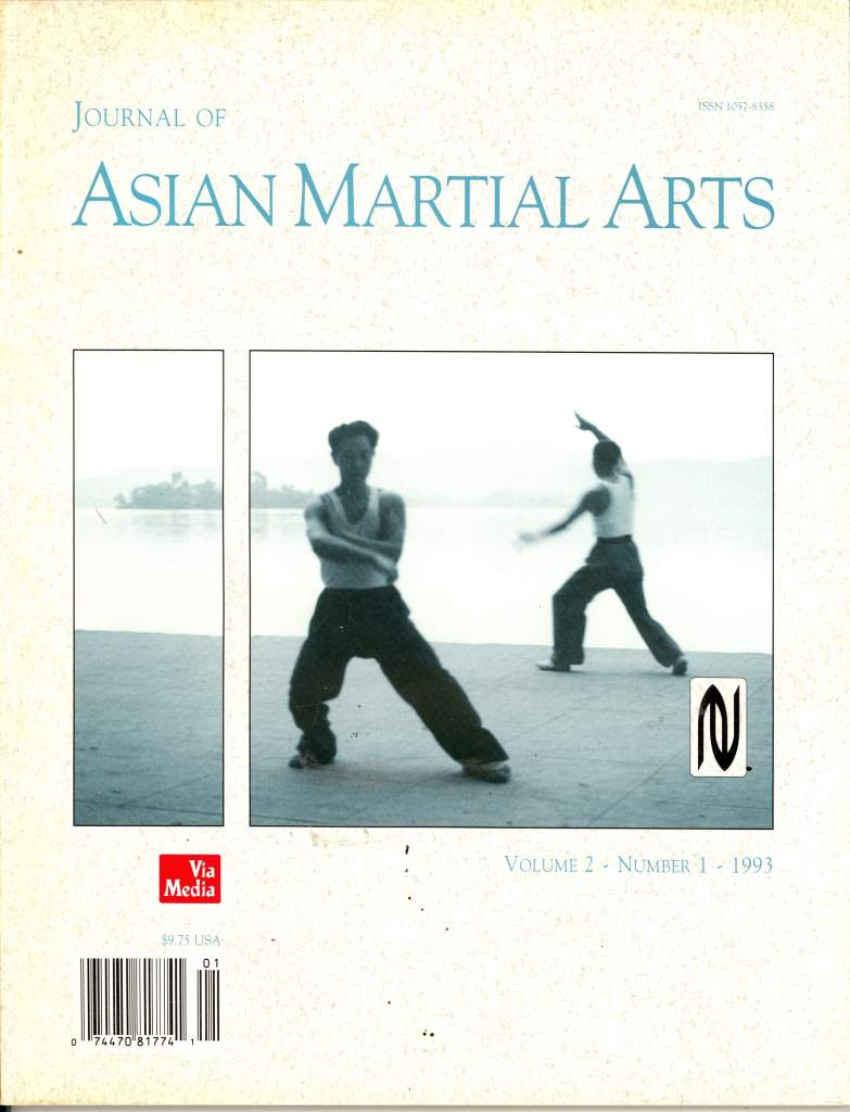 01/93 Journal of Asian Martial Arts