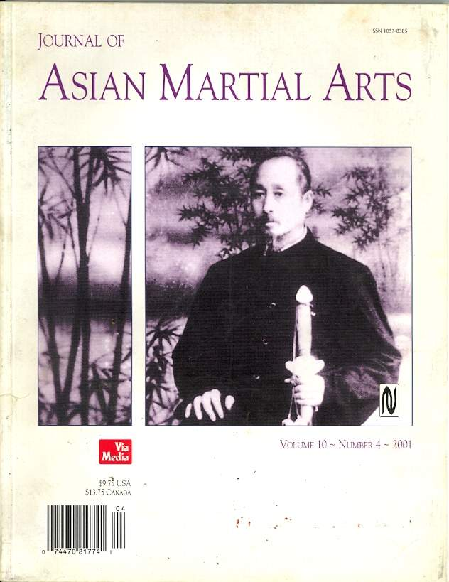 2001 Journal of Asian Martial Arts