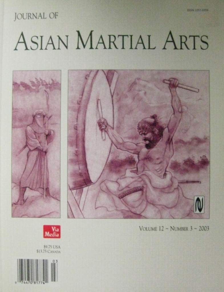 2003 Journal of Asian Martial Arts