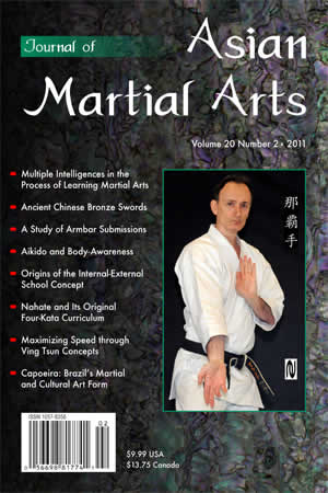 2011 Journal of Asian Martial Arts