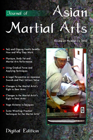 2012 Journal of Asian Martial Arts