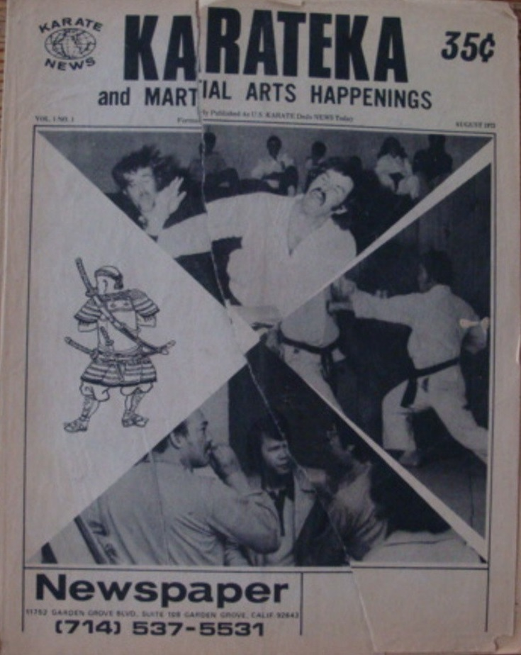 08/73 KarateKa and Martial Arts Happenings