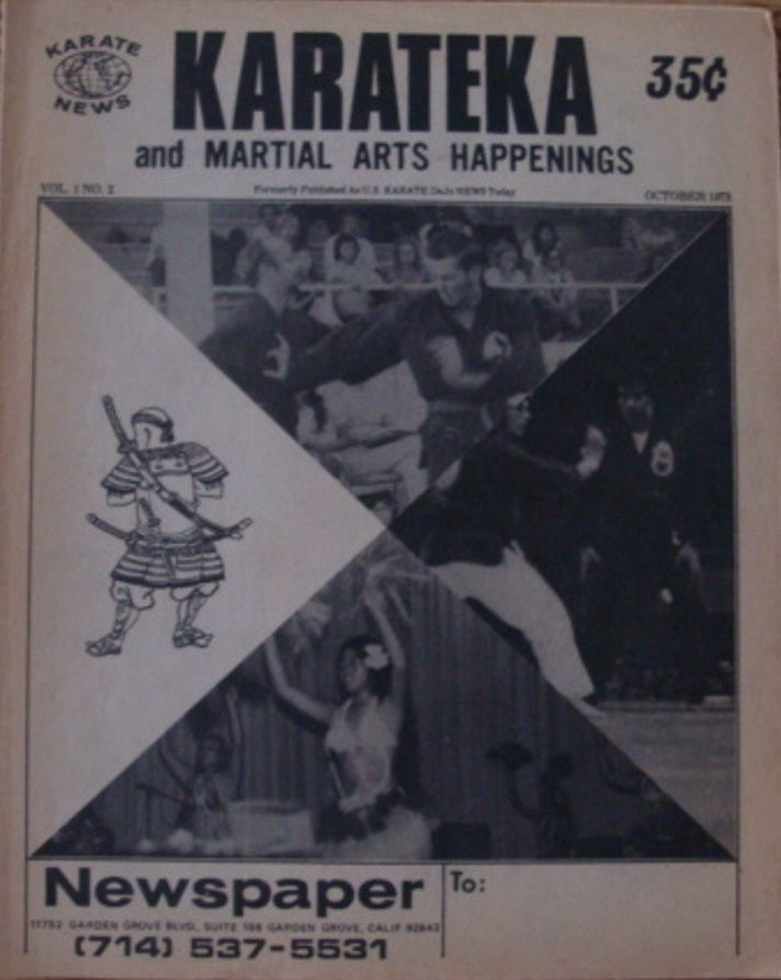 10/73 KarateKa and Martial Arts Happenings