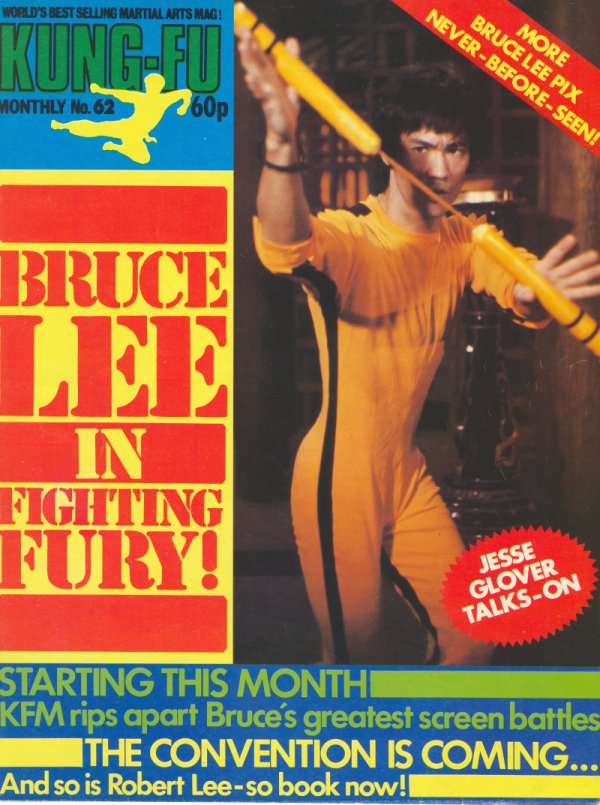 Kung Fu Monthly Poster (UK)