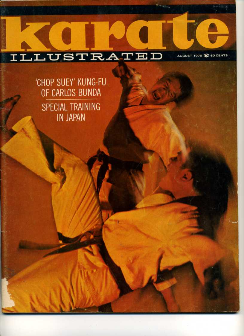 08/70 Karate Illustrated