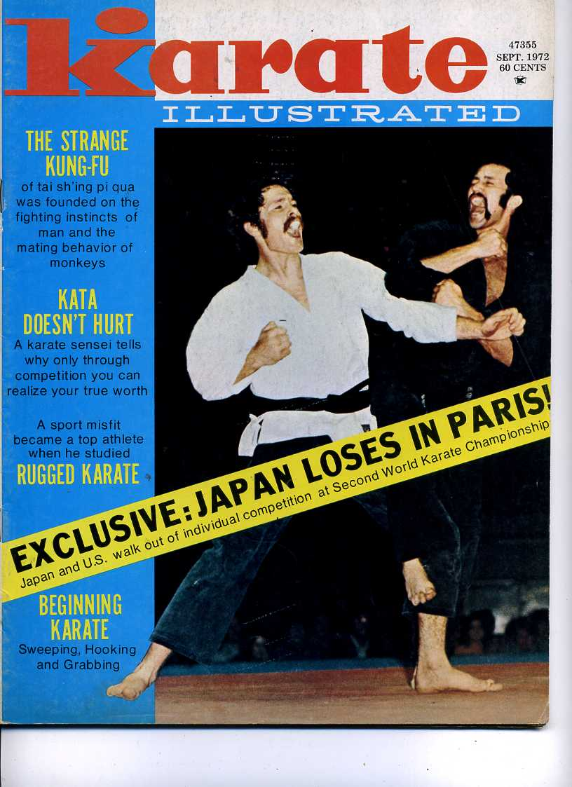 09/72 Karate Illustrated
