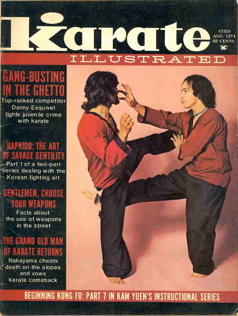 08/74 Karate Illustrated