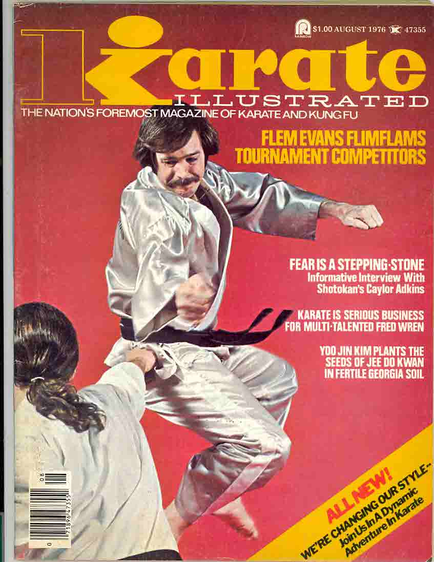 08/76 Karate Illustrated